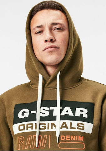G-Star RAW Kapuzensweatshirt »Color Block Originals Logo Hooded Sweat« kaufen