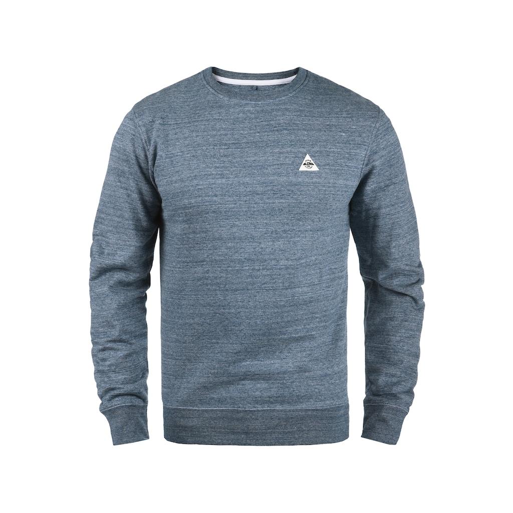 Blend Sweatshirt »Henry«, Sweatpullover mit Gummi-Patch