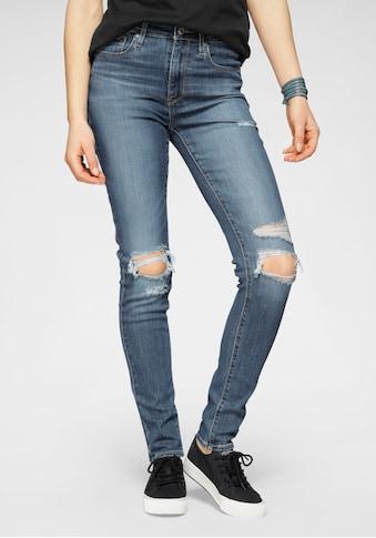 Levi's® Skinny-fit-Jeans »721 High Rise«, High Waist mit Destroyed-Effekten kaufen