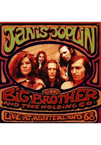 Musik-CD »JANIS JOPLIN LIVE AT WINTERLAN / JANIS JOPLIN WITH BIG BROTHER« kaufen