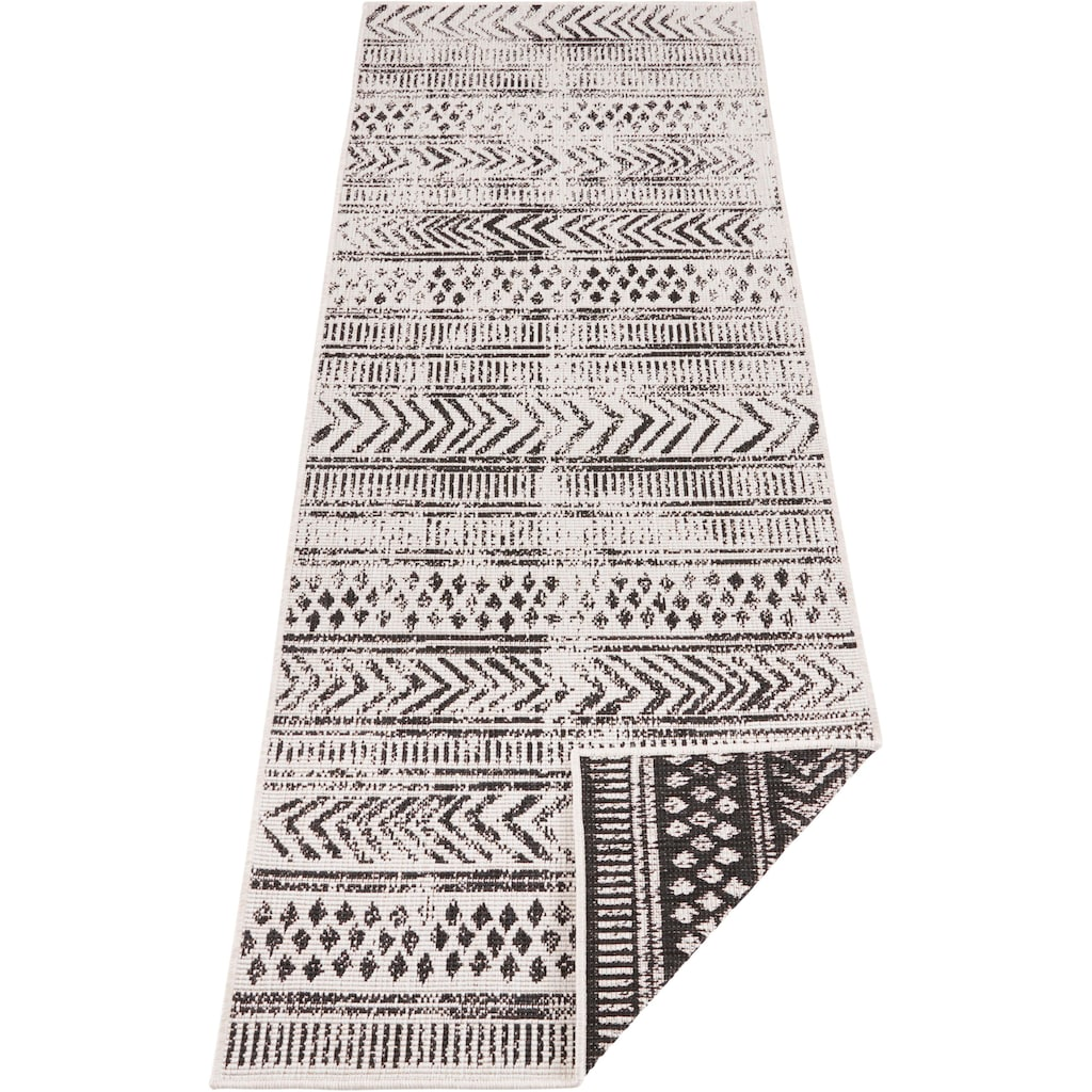 bougari Läufer »BIRI«, rechteckig, 5 mm Höhe, In- und Outdoor geeignet, Wendeteppich