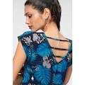 Melrose Rundhalsshirt, mit Rückendetail