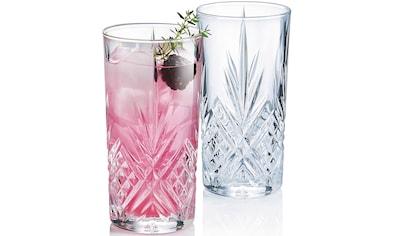 Luminarc Longdrinkglas »Eugene«, (Set, 6 tlg.), edler Schliff, 6-teilig kaufen