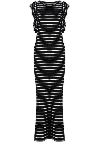 LTB Sommerkleid »TESIYO«, mit Rüschen am Ärmelausschnitt kaufen
