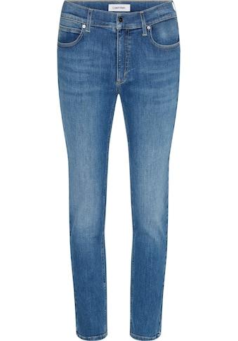 Calvin Klein Slim-fit-Jeans »MID RISE SLIM«, mit Calvin Klein Logo- Badge kaufen