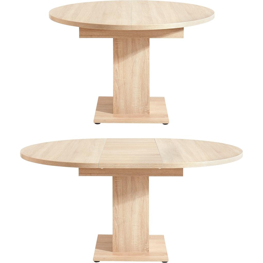 Esstisch, mit Auzugsfunktion in 2 Größen