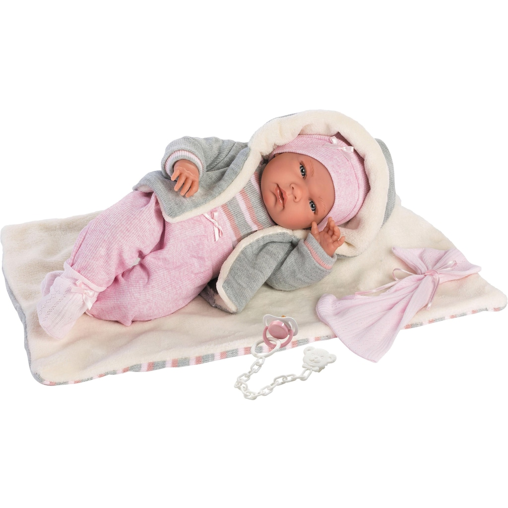 Llorens Babypuppe »Nica, 40 cm«, (Set, 4 tlg.), Made in Europe