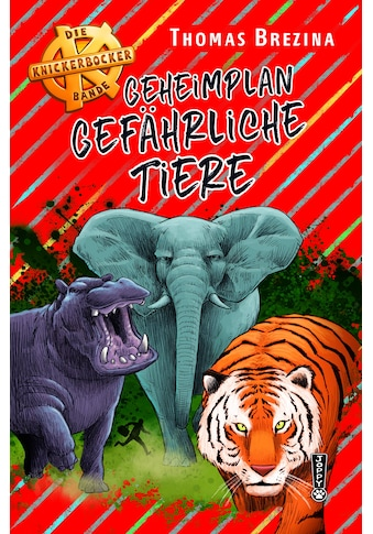 Buch »Geheimplan gefährliche Tiere / Thomas Brezina« kaufen