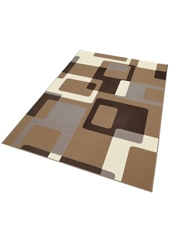 HANSE Home Teppich »Retro«, rechteckig, 9 mm Höhe, retro Design, Wohnzimmer kaufen