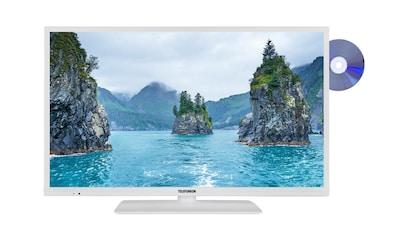 Telefunken LED - Fernseher (32 Zoll, Full HD, SmartTV, DVD, Bluetooth) »XF32E519D - W« kaufen