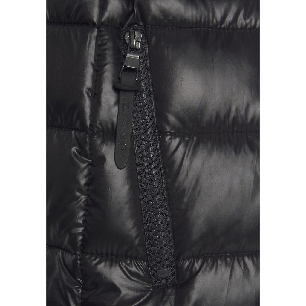 ALPENBLITZ Softshelljacke »Bergen short«, mit gesteppten Body-Part und Softshell-Details