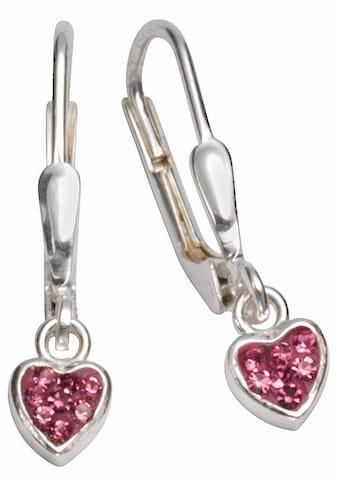 Firetti Paar Ohrhänger »Herzen, glänzend, massiv« kaufen