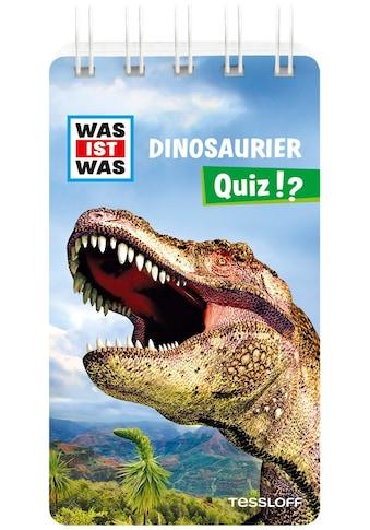 Buch »WAS IST WAS Quiz Dinosaurier / Inga Klingner, Tessloff Verlag Ragnar Tessloff... kaufen