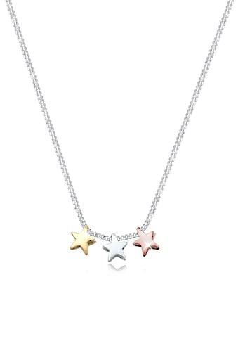 Elli Kette mit Anhänger »Drei Sterne Astro Look Basic 925 Sterling Silber« kaufen