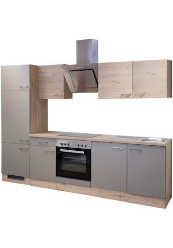 Flex-Well Küchenzeile »Riva«, mit E-Geräten, Breite 270 cm kaufen
