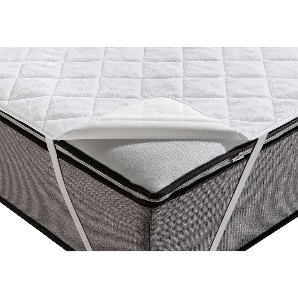 my home Matratzenauflage »Venus«, wasserdichte Wendeauflage mit wärmender und kühlender Seite, auch im günstigen Spar-Set