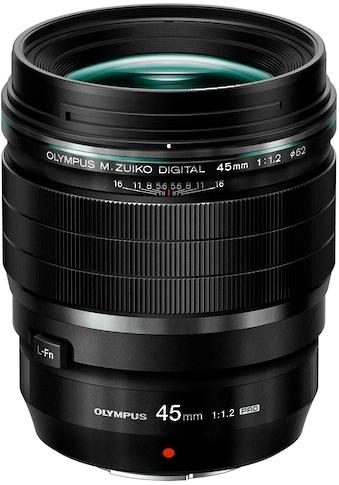 Olympus Teleobjektiv »M.ZUIKO DIGITAL ED 45 mm F1.2 PRO« kaufen