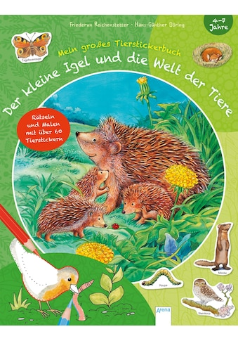Buch »Der kleine Igel und die Welt der Tiere / Friederun Reichenstetter, Corina Beurenmeister, Hans-Günther Döring« kaufen