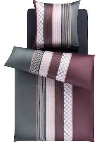 Joop! Bettwäsche »JOOP! CORNFLOWER STRIPES«, mit elegantem Streifen-Muster kaufen
