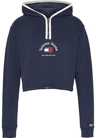 Tommy Jeans Sweatshirt »TJW Crop Timeless Tommy 1 Hoodie«, in Cropped Form mit Tommy... kaufen