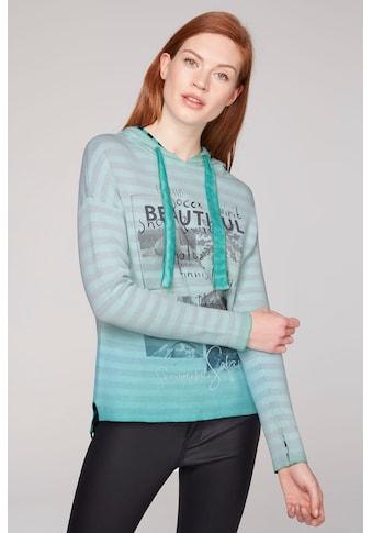 SOCCX Kapuzensweatshirt, in lässiger Inside-Out-Qualität kaufen