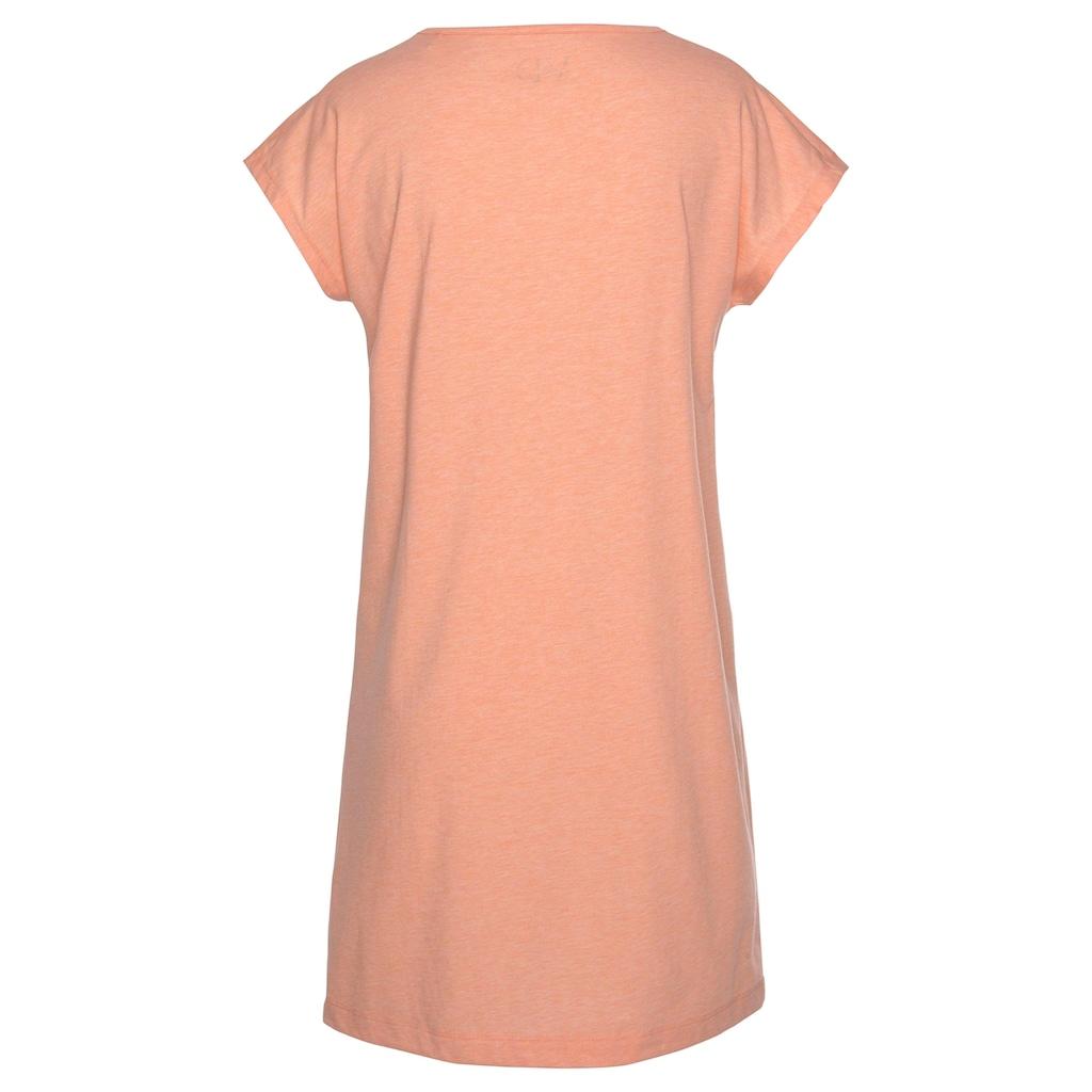 Vivance Dreams Nachthemd, mit Fransenborte an der Schulter