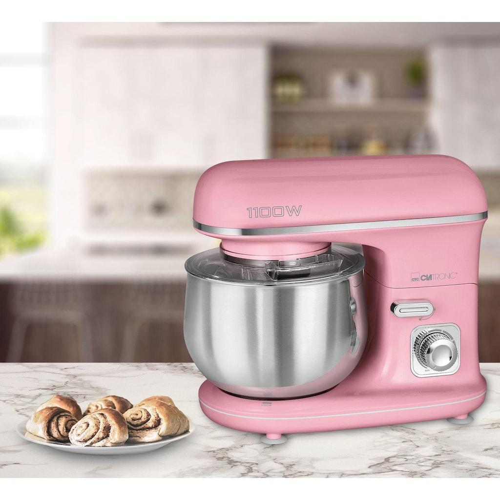 CLATRONIC Küchenmaschine »KM 3711 pink«