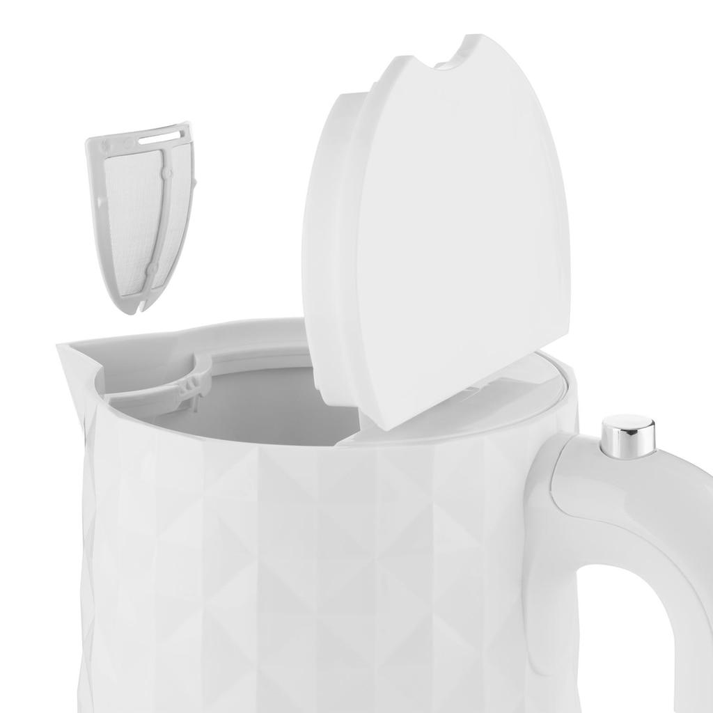 Klarstein Wasserkocher 2200W 1,7L weiß