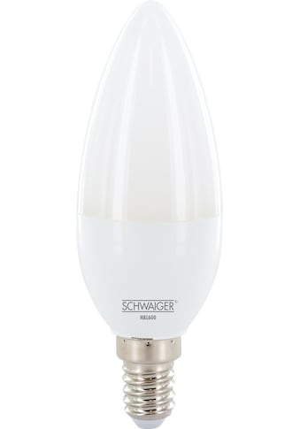Schwaiger LED Lampe E14 dimmbar -smarte LED- Glühbirne warmweiß »Lichtsystem /... kaufen