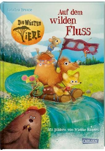 Buch »Die wüsten Tiere 2: Auf dem wilden Fluss / Wiebke Rauers, Katalina Brause« kaufen
