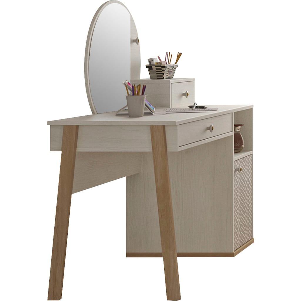 Gami Jugendzimmer-Set »Alika«, (Set, 2 tlg.), Schreibtisch-Set
