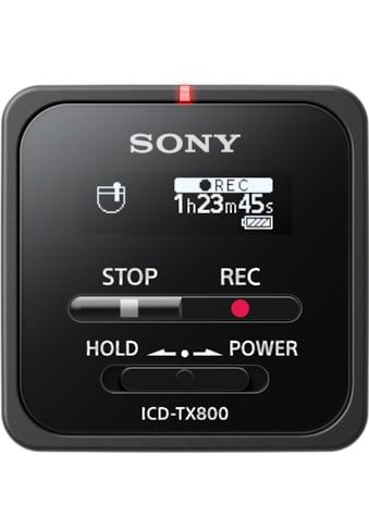 Sony Mikrofon »ICD-TX800B«, Diktiergerät kaufen