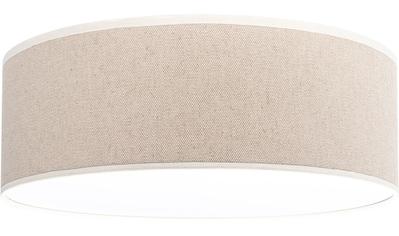 OTTO products Deckenleuchte »Emmo«, E27, Deckenlampe mit hochwertigem Schirm Ø 38 cm aus Leinen & Baumwolle, mit Magnetbefestigung, Made in Europe, geeignet für LM E27 (exklusive) kaufen