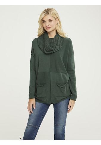 Pullover mit Loop - Schal kaufen