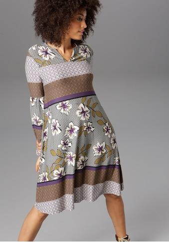 Aniston CASUAL Jerseykleid, im trendigem Mustermix kaufen