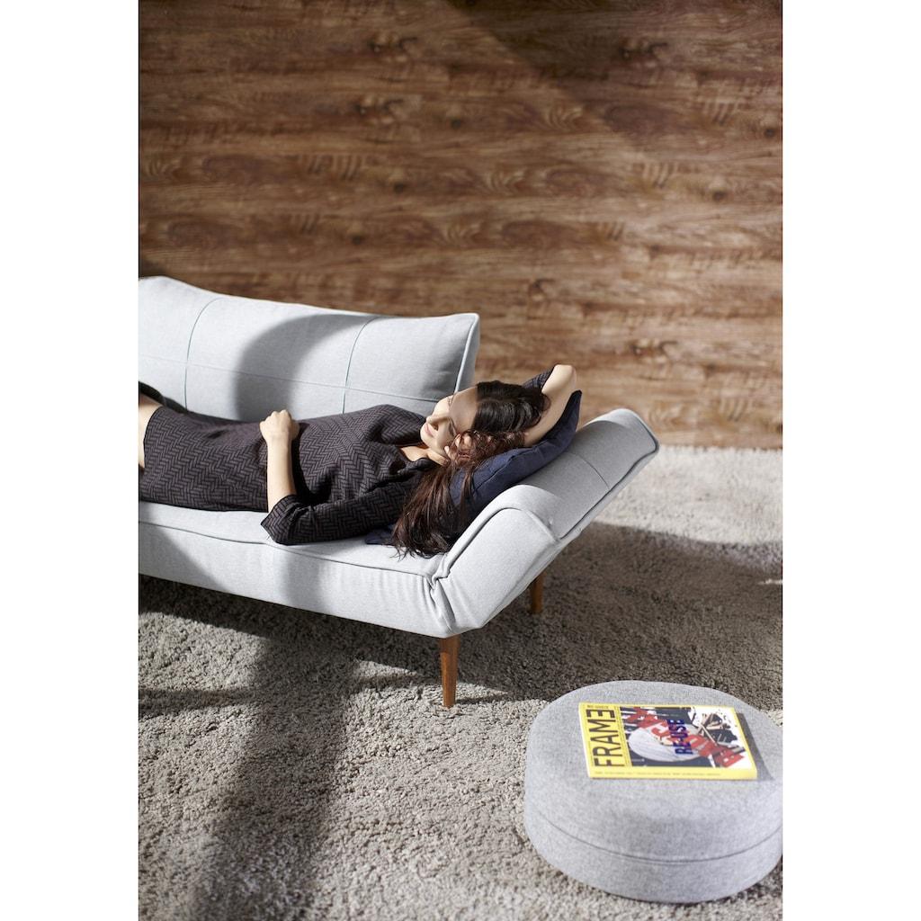 INNOVATION LIVING ™ Schlafsofa »Zeal«, im Scandinavian Design, Styletto Beine, inklusive Rückenkissen