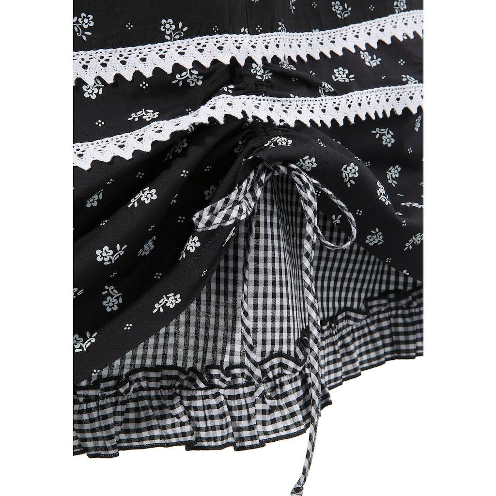 Trachtenkleid, mit Puffärmel