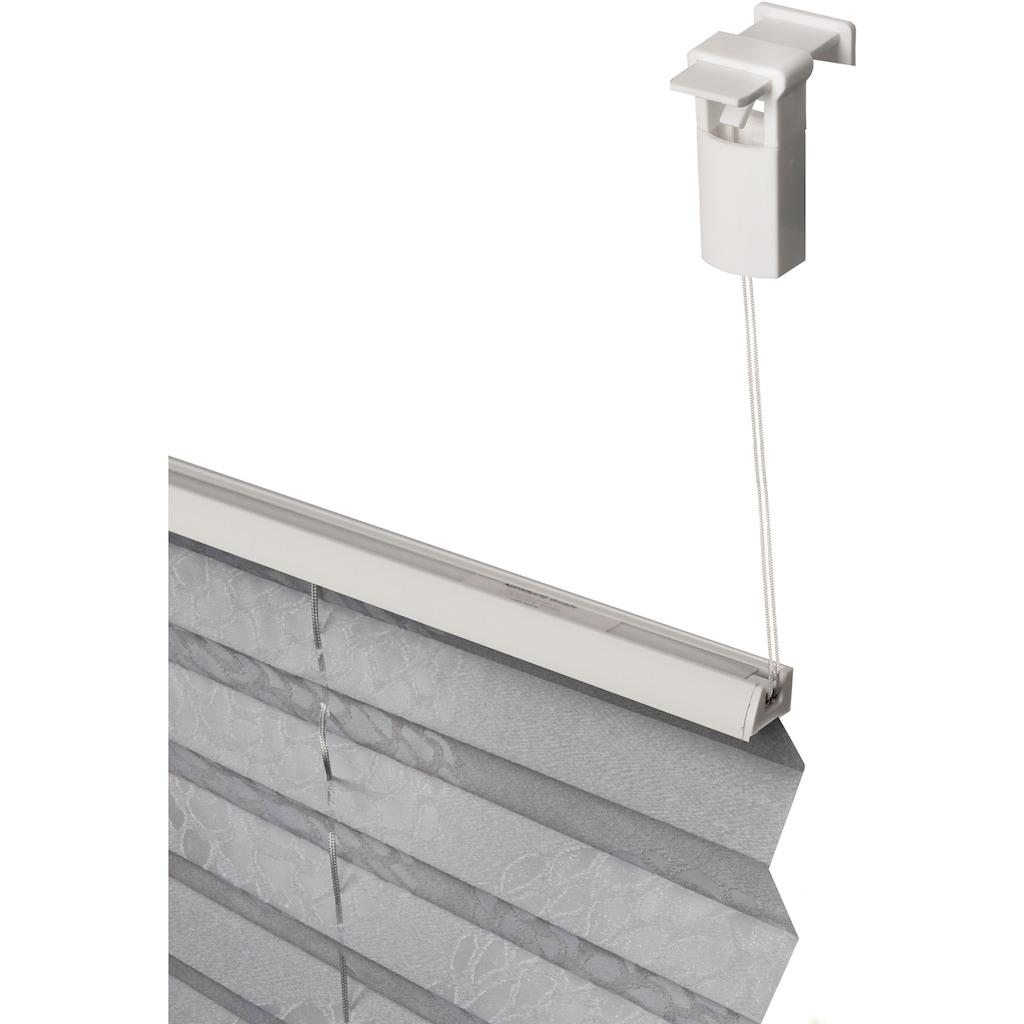 my home Plissee »BELUM«, Lichtschutz, ohne Bohren, verspannt, im Fixmaß