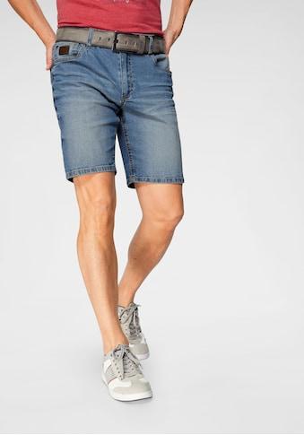 Arizona Jeansshorts, mit Waschung kaufen
