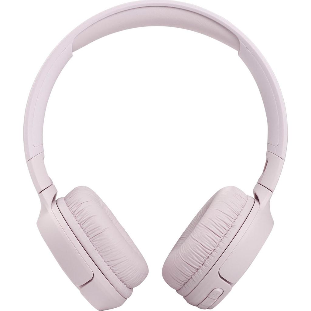 JBL On-Ear-Kopfhörer »TUNE T510 BT«, Sprachsteuerung-kompatibel mit Siri, Google Now