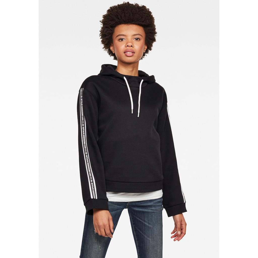 G-Star RAW Sweatshirt »Bilbi Originals Sweatshirt«, Kapuzensweatshirt mit Logo Webband an den Ärmeln