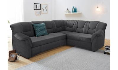 DOMO collection Ecksofa »Sarafina«, wahlweise mit Bettfunktion, optional mit Federkern kaufen