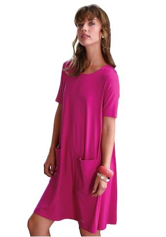 Looxent Jerseykleid »Jersey-Kleid mit 1/2-Arm«, Glitzereffekt kaufen