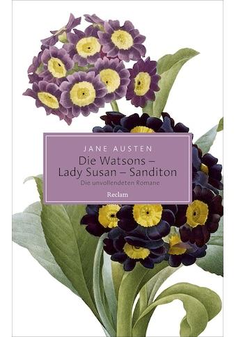 Buch »Die Watsons / Lady Susan / Sanditon / Jane Austen, Christian Grawe, Ursula... kaufen