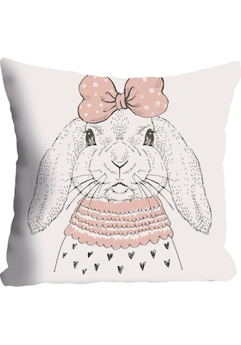 queence Kissenhülle »Hase«, (1 St.) kaufen