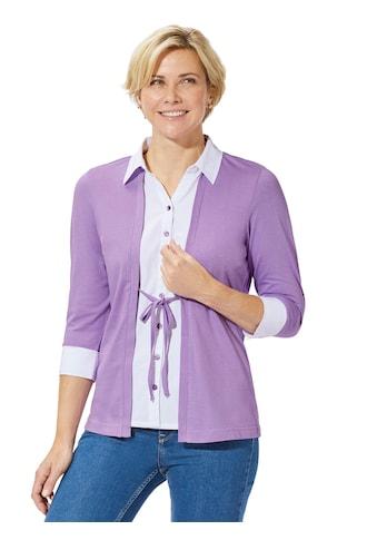 Casual Looks Shirt in attraktiver 2 - in - 1 - Optik kaufen