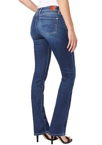 Pepe Jeans Bootcut-Jeans »PICCADILLY«, im 5-Pocket-Stil und Hintertaschen mit Absteppung kaufen