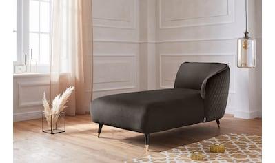 Guido Maria Kretschmer Home&Living Recamiere »Oradea«, mit eleganter Steppung auf... kaufen