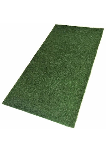 Living Line Kunstrasen »Madeira Premium«, rechteckig, 32 mm Höhe, Rasenteppich, grün, strapazierfähig, witterungsbeständig, In- und Outdoor geeignet, Meterware kaufen