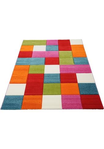 merinos Teppich »GENIL«, rechteckig, 13 mm Höhe, handgearbeiteter Konturenschnitt,... kaufen